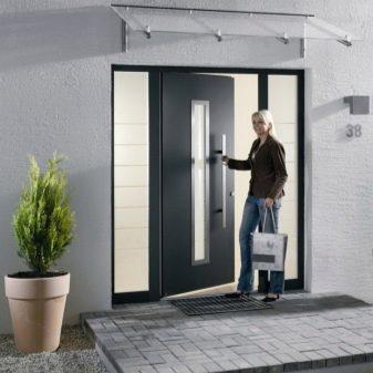 сторона открывания квартирных входных дверей правила и