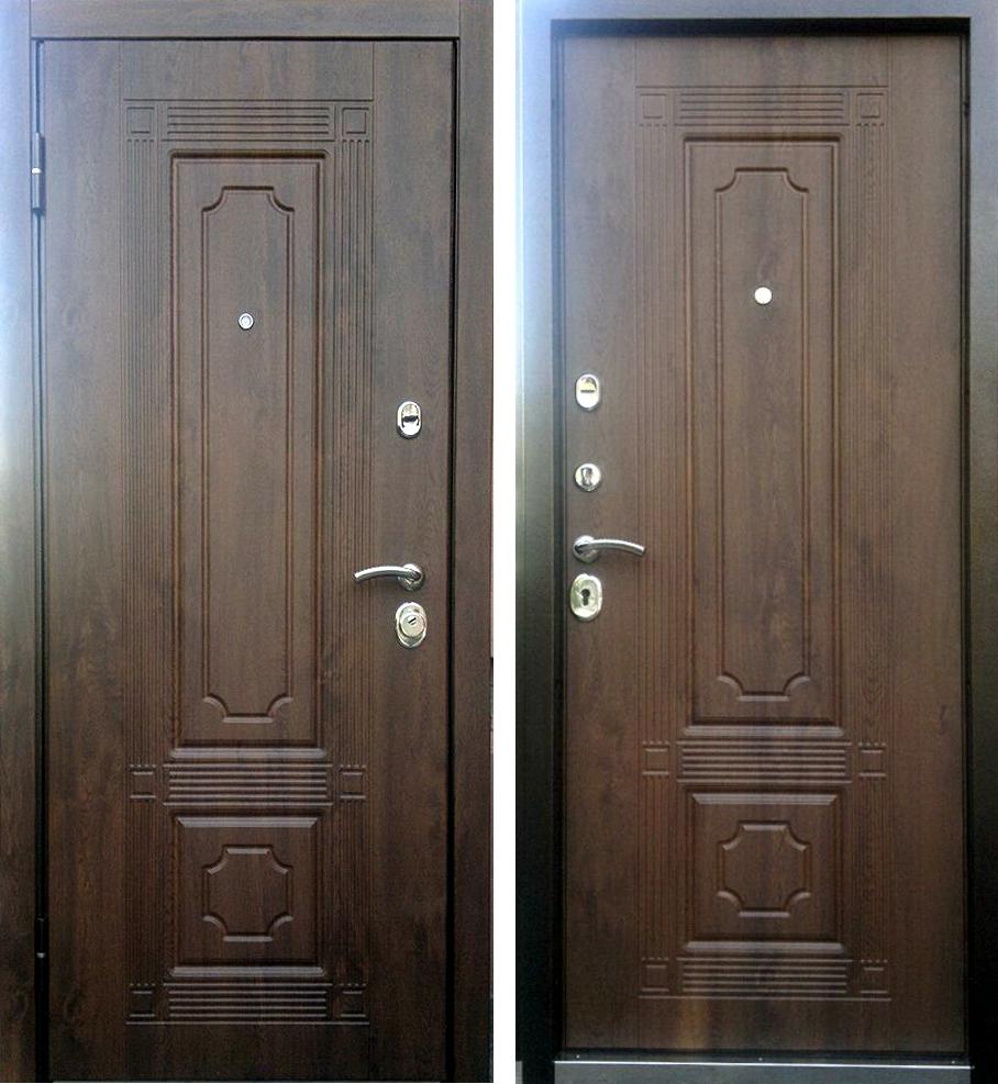 Двери цвет грецкий орех